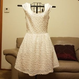 Jessica Simpson White/Ivory with Sheer Back